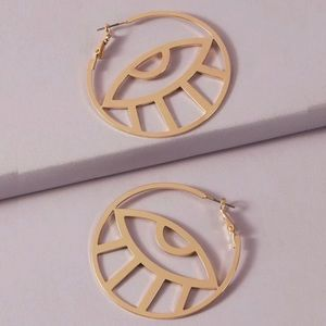 3/$30 💛 Evil Eye Hoop Earrings
